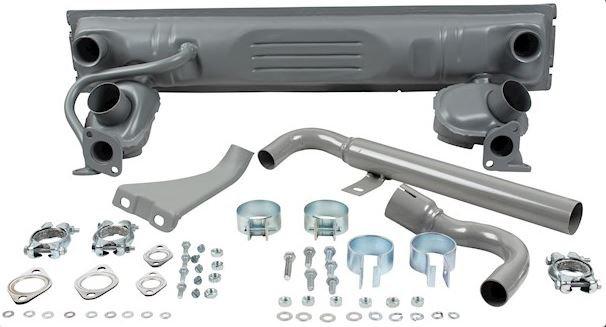 Schalldämpfersatz mit TÜV | VW Bus T1 1,5-1,6 BJ 1962-1971