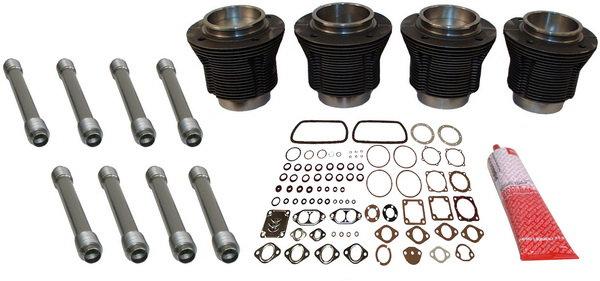 Kolben Zylindersatz komplett | gegossen | 85,5mm Bohrung | 69mm Hub | VW 1.6