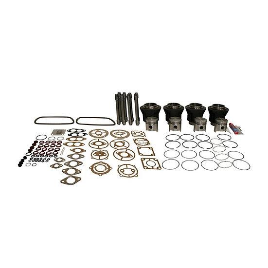 Kolben Zylindersatz komplett | gegossen | 77mm Bohrung | 69mm Hub | MAHLE