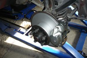 Bremsanlage teilrestauriert
