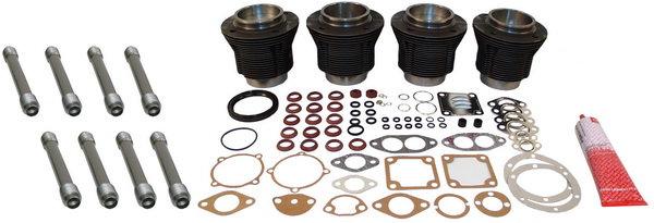 Kolben Zylindersatz komplett | gegossen | 85,5mm Bohrung | 69mm Hub | MAHLE