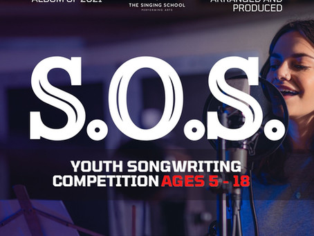 S.O.S Youth Songwriting Competition is LIVE this Friday!