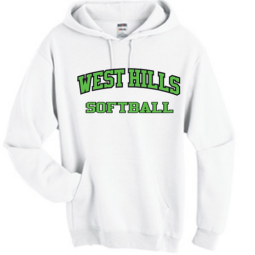 West Hills Softball Hoodie - West Hills Softball