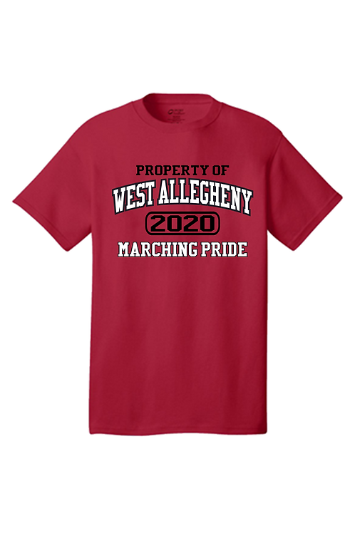 Short Sleeve Property of West Allegheny Marching Pride