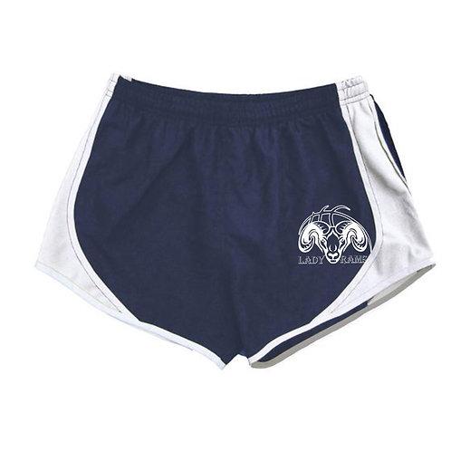 Navy Blue Running Shorts - Rochester Basketball