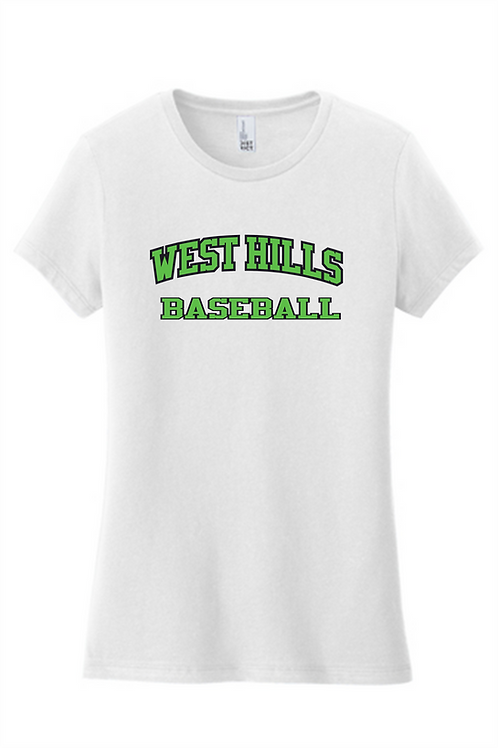 Women's Fit SS T-Shirt -  West Hills Baseball