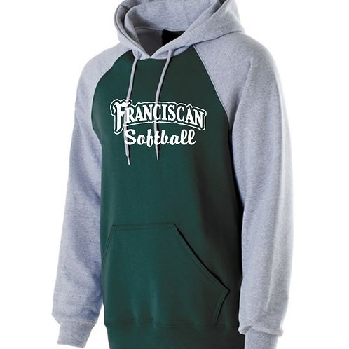 Green Raglan Hoodie - Franciscan