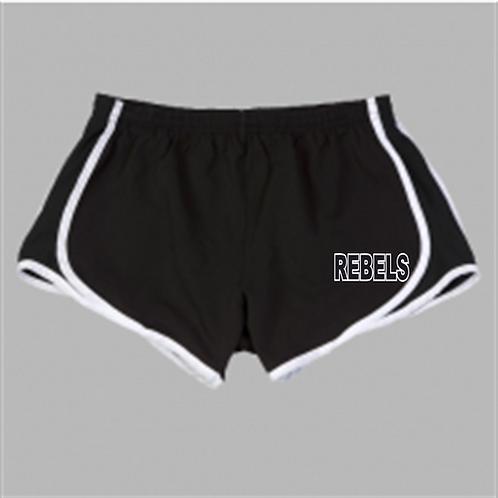 Velocity Running Shorts - Rebels Softball