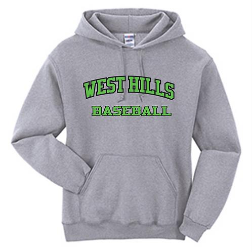 West Hills Baseball Hoodie - West Hills Baseball