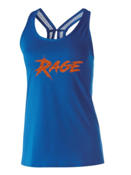 Rage Ladies Precision Glitter  Tank