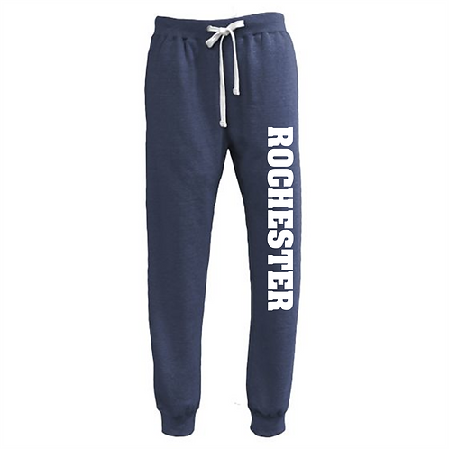 Navy Joggers - Rochester Basketball