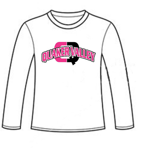Quaker Valley Pink Out Long Sleeve T-Shirt