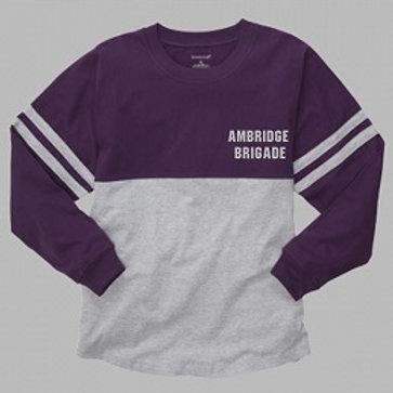 Pom Pom Jersey Shoulder to Shoulder Print - Ambridge Brigade
