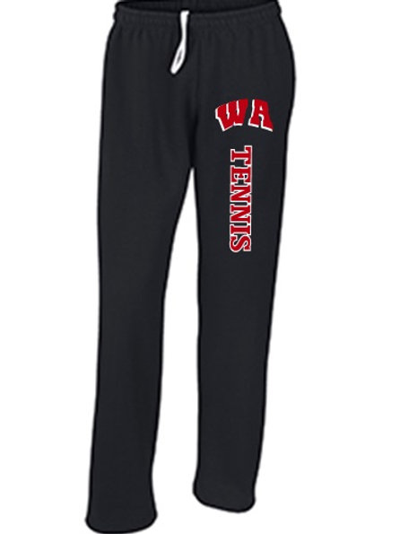 Pocket Sweatpants Open Bottom - West Allegheny Tennis