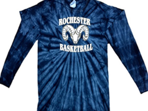 Long Sleeve Tie Dye - Rochester Basketball