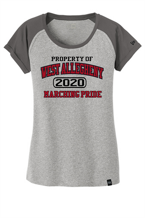 Ladies Short Sleeve T-Shirt Property Of  -  West Allegheny Band