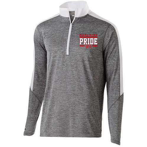 Men's Electrify 1/2 Zip Pullover - West Allegheny Band