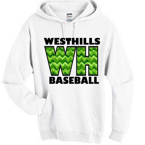 West Hills Chevron Baseball Hoodie - West Hills Baseball
