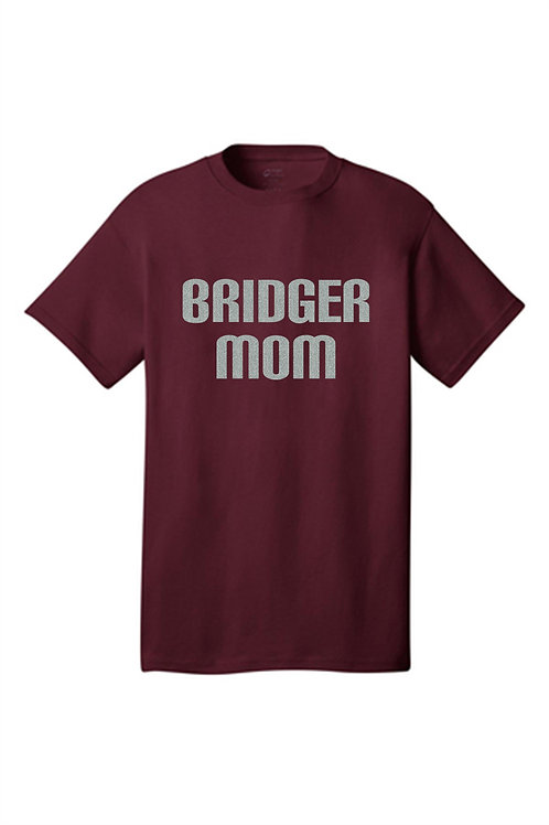 Glitter Mom Tee  - Ambridge Volleybal