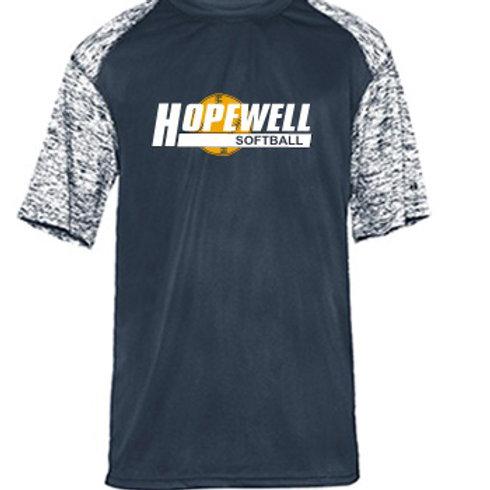 Dri-Fit Blend Short Sleeve - Hopewell Softball