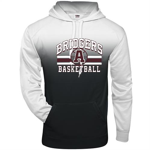 Ombre Hoodie - Ambridge Lady Bridgers Basketball