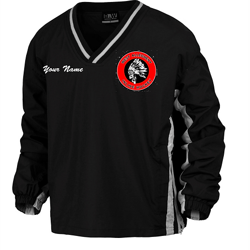 Embroidered V-Neck Pullover - West Allegheny Inline Hockey