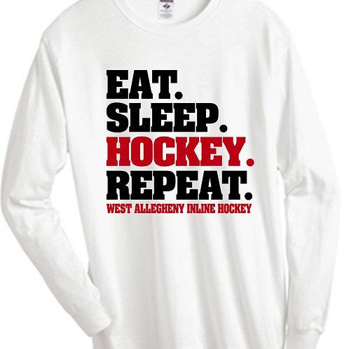 Eat Sleep Hockey LS - West Allegheny Inline Hockey