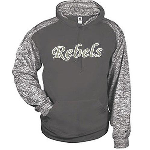 Two Tone Blend Dri-Fit Hoodie - Rebels Softball