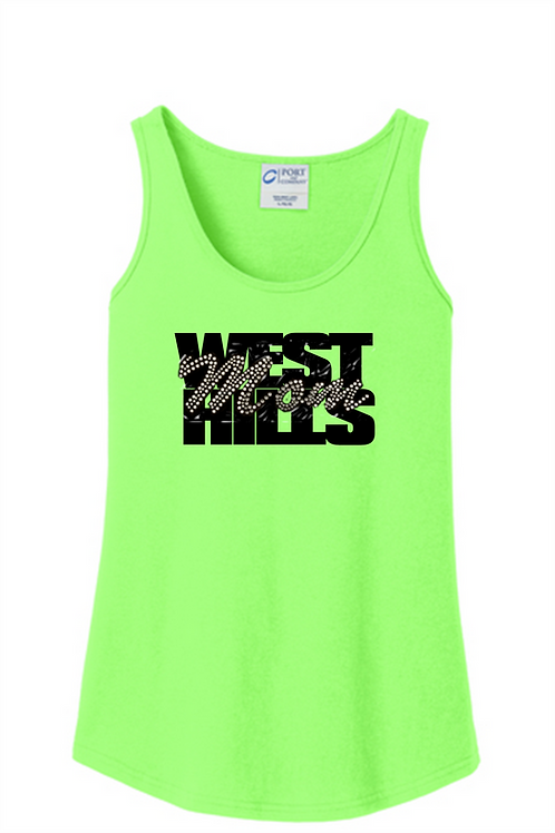 West Hills Rhinestone Mom - West Hills