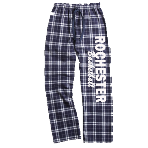 Flannel Pants - Rochester Basketball