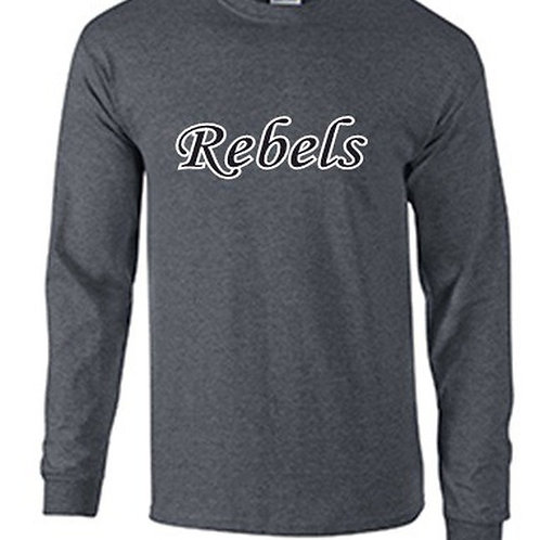 Long Sleeve T-Shirt - Rebels Softball