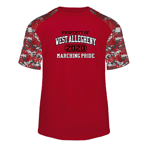 Camo Blend Short Sleeve - West Allegheny Band