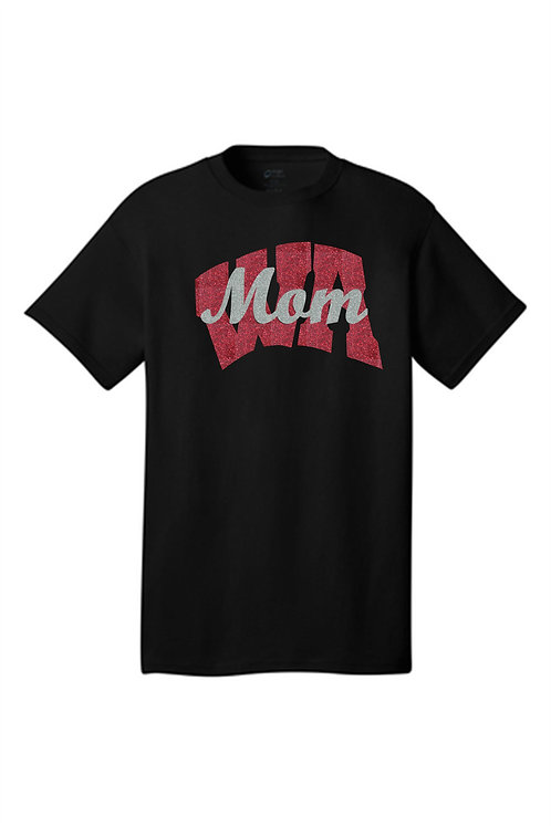Ladies Short Sleeve T-Shirt WA Mom  -  West Allegheny Band