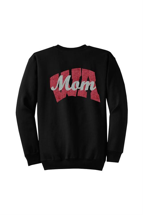 WA Mom Crew Sweatshirt - West Allegheny Band