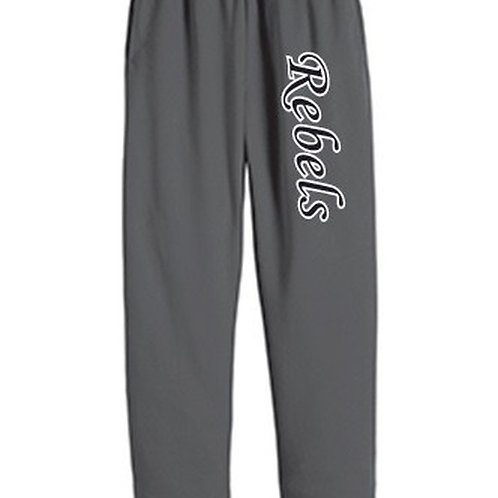 Sweat Pants - Rebels Softball