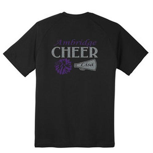 Black Cheerleader T-shirt - Ambridge Brigade