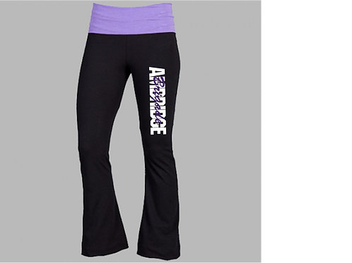 Purple and Black Practice Pants - Ambridge Brigade