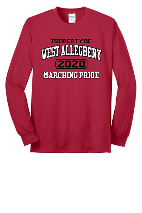 Long Sleeve Property of  -  West Allegheny Band