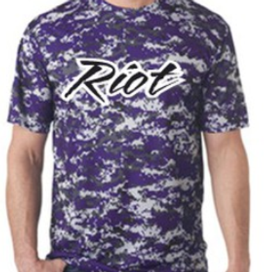Camo Dri-Fit Short Sleeve T-Shirt - Pittsburgh Riot