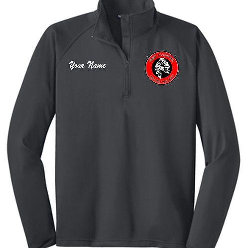 Mens Qtr Zip Pullover - West Allegheny Inline Hockey