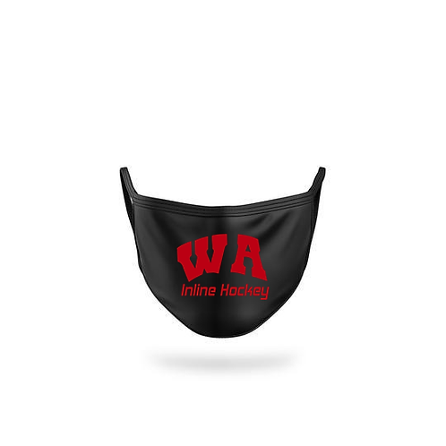 Face Mask with WA Inline Hockey Logo - West Allegheny Inline Hockey