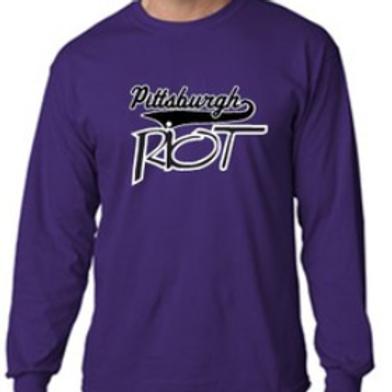 Crew Neck Sweat Shirt - Pittsburgh Riot Softball