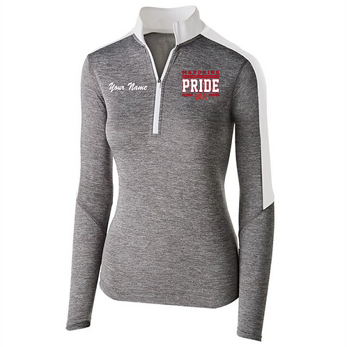 Ladies Electrify 1/2 Zip Pullover - West Allegheny Band