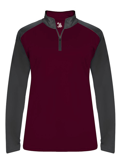 Womans two-tone pullover - Beaver Football