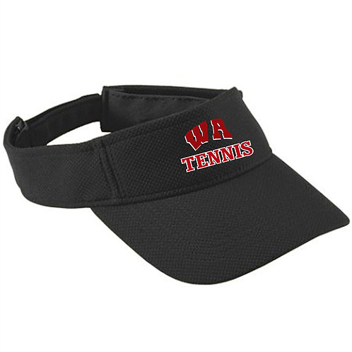 Moisture Wicking Mesh Visor- West Allegheny Tennis