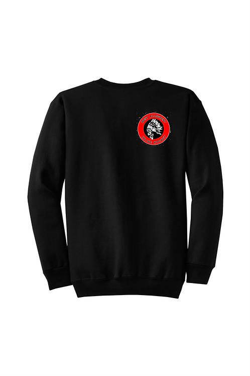 Crew Sweatshirt Embroidered Logo  -  West Allegheny Inline Hockey