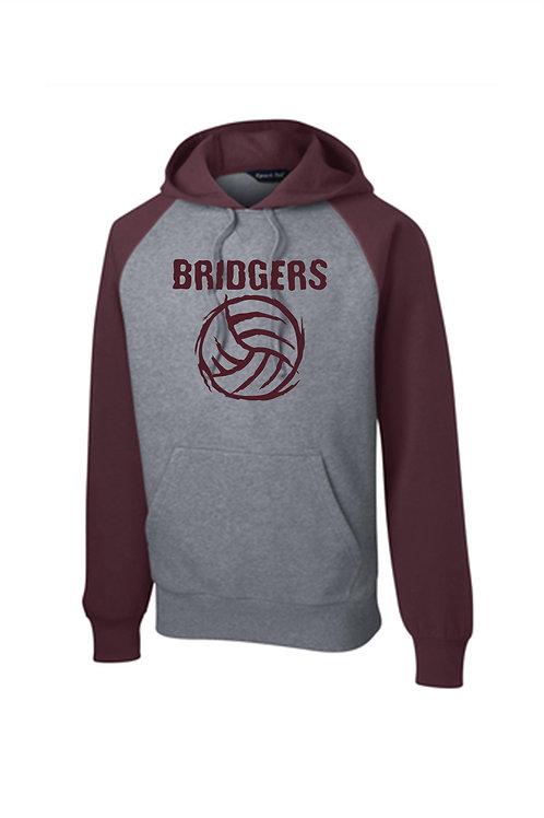 Color Block  Hoodie - Ambridge Volleyball