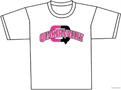 Quaker Valley Pink Out T-Shirt