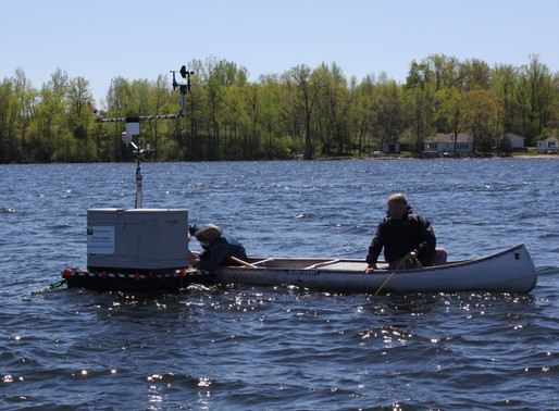 South Center Lake research station is deployed