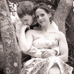 Anne-Sophie et Marc arbre de l'amour Tha